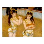 Los acróbatas de Renoir en el Cirque Fernando Tarjetas Postales