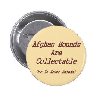 Los afganos son cobrables pin redondo de 2 pulgadas