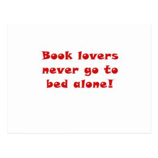 Los aficionados a los libros nunca se van a la postal
