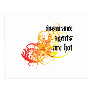 Los agentes de seguro son calientes postal
