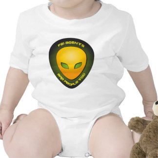 Los agentes del FBI son gente también Traje De Bebé