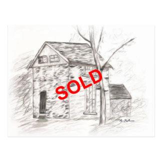 Los agentes inmobiliarios dicen vendido con una postal