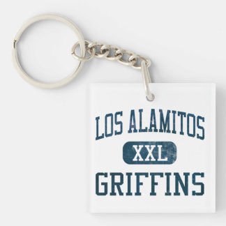 Los Alamitos Griffins Athletics Keychain