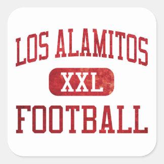 Los Alamitos Griffins Football Square Sticker