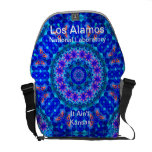 Los Alamos - Blue Lagoon of Liquid Shafts of Light Courier Bags