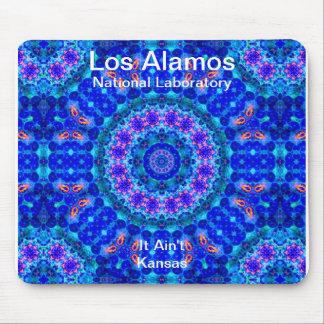 Los Alamos - Blue Lagoon of Liquid Shafts of Light Mouse Pad