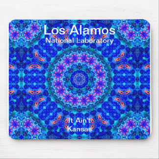 Los Alamos - Blue Lagoon of Liquid Shafts of Light Mouse Pads