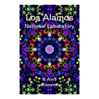 Los Alamos - Heaven s Reprise of the Blue Universe Poster