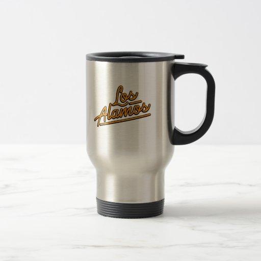 Los Alamos in orange Mug