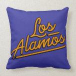 Los Alamos in orange Pillows