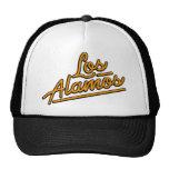 Los Alamos in orange Trucker Hat