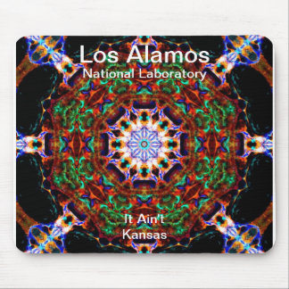 Los Alamos__Irredescent Leaves Falling into Heaven Mouse Pad