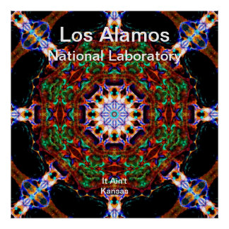 Los Alamos__Irredescent Leaves Falling into Heaven Print