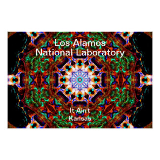 Los Alamos__Irredescent Leaves Falling into Heaven Poster