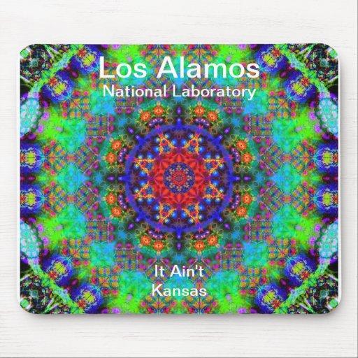 Los Alamos - jardín del vitral más allá del Sun Mousepads