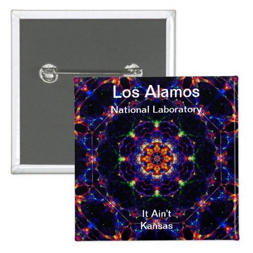 Los Alamos - Lightform del placer divino Pin