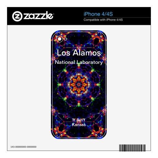 Los Alamos - Lightform of Heavenly Delight iPhone 4 Skin