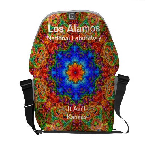 Los Alamos - Mystical Glow of the Sailing Wind Messenger Bag