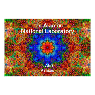 Los Alamos - Mystical Glow of the Sailing Wind Poster