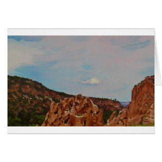 Los Alamos Overview Greeting Card