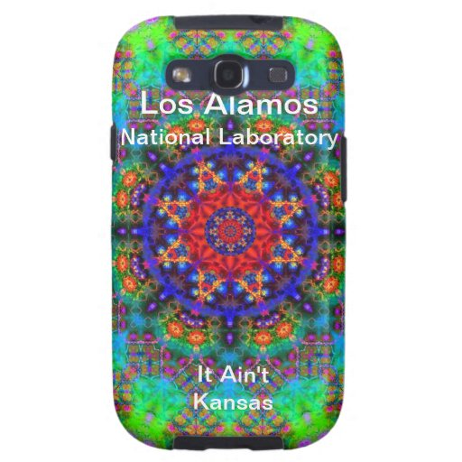 Los Alamos - Stained Glass Garden Beyond the Sun Galaxy S3 Cover