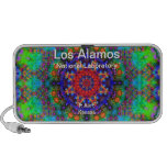 Los Alamos - Stained Glass Garden Beyond the Sun Laptop Speakers