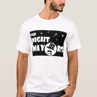 los alcaldes Fan Shirt de la noche Playera