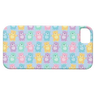 Los alegres osos bailarines de colores iPhone 5 Case-Mate carcasas