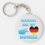 Los alemanes son mi Homies Llaveros