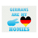 Los alemanes son mi Homies Tarjeta Postal