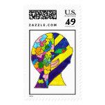 los-alenam postage stamps