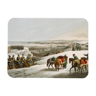 Los aliados antes de Dantzic en el invierno, graba Imanes De Vinilo