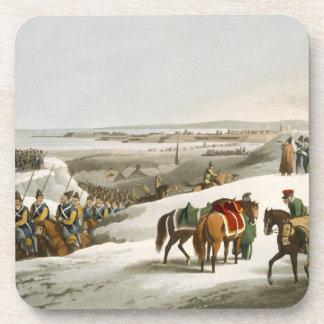 Los aliados antes de Dantzic en el invierno graba Posavaso