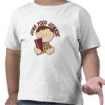 Los alimentos de preparación rápida divertidos emb camisetas