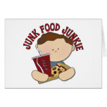Los alimentos de preparación rápida divertidos tarjeta de felicitación