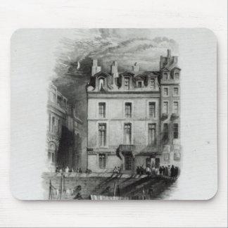 Los alojamientos de Napoleon en el Quai Conti, 183 Mousepads