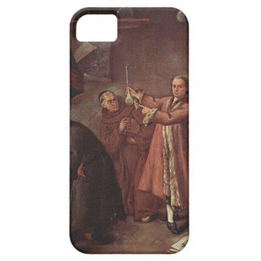Los alquimistas de Pietro Longhi iPhone 5 Funda