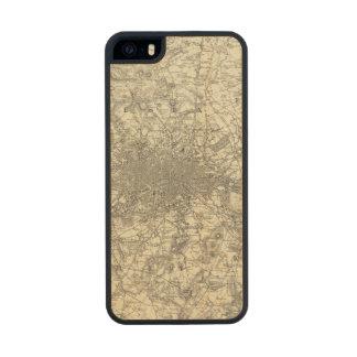 Los alrededores de Londres Funda De Arce Carved® Para iPhone 5 Slim