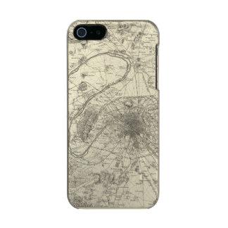 Los alrededores de París Carcasa De Iphone 5 Incipio Feather Shine