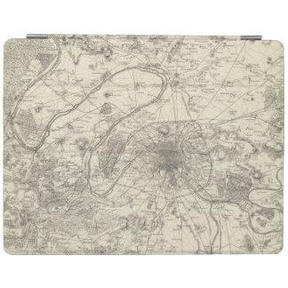 Los alrededores de París Cubierta De iPad