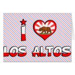 Los Altos, CA Cards