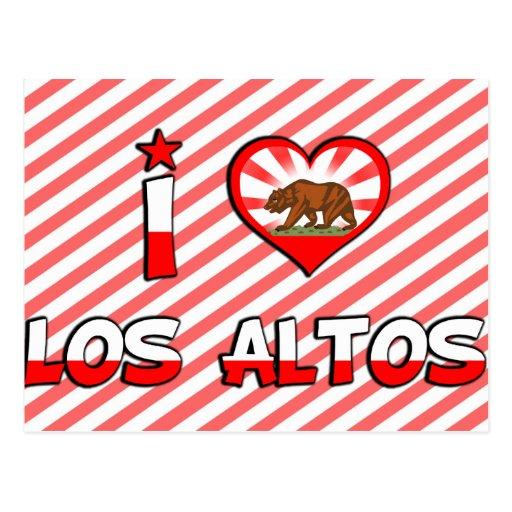 Los Altos, CA Postcard