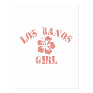 Los Altos Pink Girl Post Cards