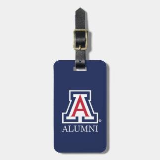 Los alumnos de la Universidad de Arizona Etiquetas De Equipaje