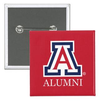 Los alumnos de la Universidad de Arizona Pin Cuadrado