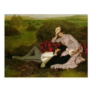Los amantes, 1870 tarjetas postales
