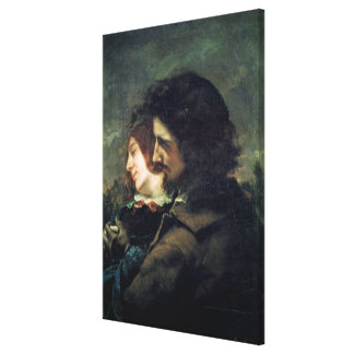 Los amantes felices, 1844 impresiones en lienzo estiradas