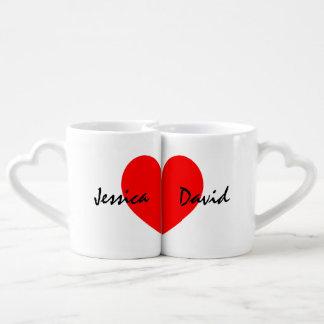 Los amantes personalizados asaltan el sistema con tazas para parejas