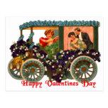 Los amantes U del Cupid de la tarjeta del día de Postales