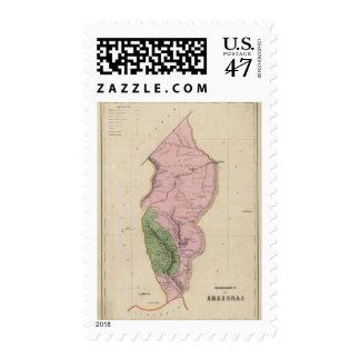 Los Amazonas Sellos Postales